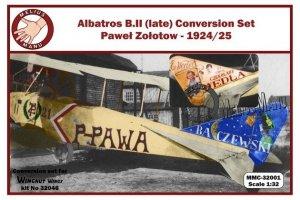 Melius Manu MMC32-001 ALBATROS B.II CONVERSION SET 1/32