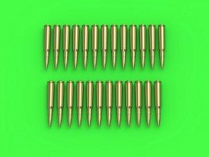 Master GM-16-002 Browning .50 caliber (12,7mm) - naboje (25sztuk) 1/16