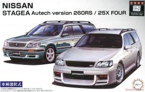 Fujimi 046136 ID-147 Nissan Stagea Autech Version 260RS / 25X Four 1/24