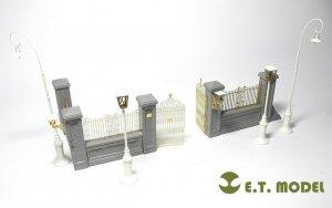 E.T. Model J35-001 Park Gate & Fence FOR MINIART KIT