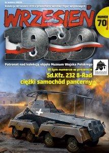 First to Fight PL070 Sd.Kfz. 232 8-rad. niemiecki Ciężki Samochód Pancerny 1/72