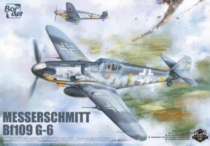 Border Model BF-001 Messerschmitt BF109G-6 Gustav 1/35
