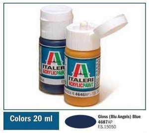 Italeri 4687 GLOSS ANGEL BLUE 20ml