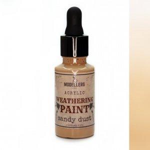 Modellers World MWE012 Weathering paint: Sandy dust 30 ml