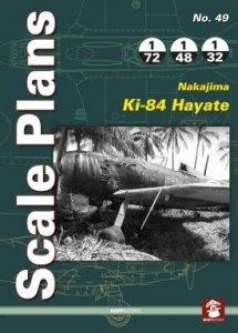 Stratus 81975 Scale Plans No. 49: Nakajima Ki-84 Hayate