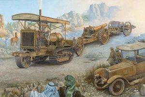 Roden 814 Holt 75 Artillery tracktor w/BL 8-inch Howitzer 1/35