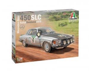 Italeri 3632 Mercedes-Benz 450SLC Rallye Bandama 1979 1/24