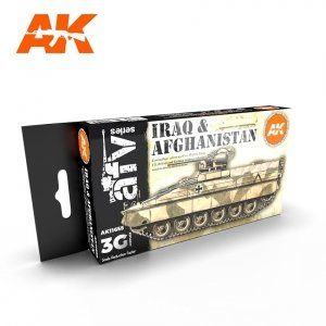 AK Interactive AK 11655 IRAQ & AFGHANISTAN 6x17 ml