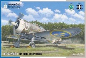 Special Hobby 48208 J-20/Héja I 'Re 2000 Export Birds' 1/48