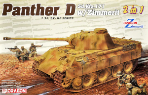 Dragon 6945 Pz.Kpfw. V Sd.Kfz. 171 Panther Ausf. D w/Zimmerit 2 in 1 1/35