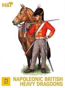 Hat 8308 Napoleonic British Heavy Dragoons 28mm