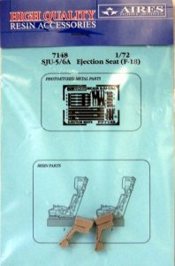 Aires 7148 SJU-5/6A ejection seats for F/A-18C 1/72