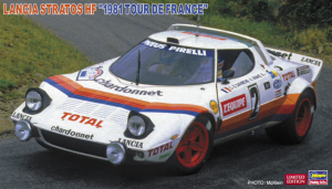 Hasegawa 20499 Lancia Stratos HF 1981 Tour de France 1/24