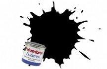 Humbrol 85 COAL BLACK SATIN