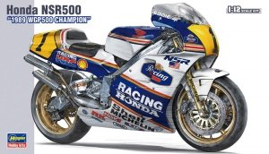 Hasegawa 21504 (BK4) Honda NSR500 1989 WGP500 Champion 1/12