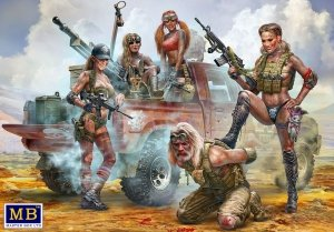 Master Box 35199 Desert Battle Series. Skull Clan - New Amazons. This is not the place for strangers!  1/35
