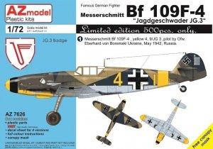 AZ Model AZ7626 Bf 109F-4 JG.3 1/72