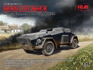 ICM 35110 Sd.Kfz. 247 Ausf.B, German Command Armoured Vehicle 1/35