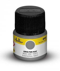 Heller 9092 092 Iron Grey - Matt 12ml