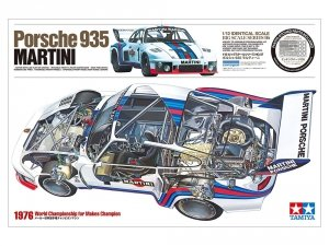 Tamiya 12057 Porsche 935 Martini 1/12