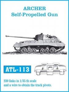 Friulmodel 1:35 ATL-113 ARCHER Self-Propelled Gun