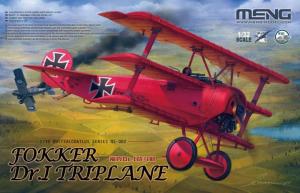 Meng Model QS-002 Fokker Dr.I Triplane 1/32
