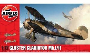 Airfix 02052A Gloster Gladiator Mk.I/Mk.II 1/72