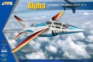 Kinetic K48087 Luftwaffe Anniversary Alpha Jet A Alpha 1/48