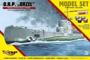 Mirage Hobby 840092 ORP 'ORZEŁ' Polski Okręt Podwodny 1939 1/400 Model set