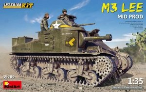 MiniArt 35209 M3 Lee Mid. Production w/interior kit 1/35