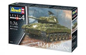 Revell 03323 M24 Chaffee 1/76