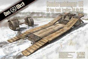 Das Werk DW35002 Sonderanhänger 115 10 Ton Tank Trailer Sd.Ah. 115 1/35