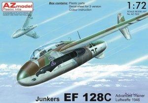 "AZ Model AZ7622 Junkers EF 128C ""Advanced trainer"" 1/72"