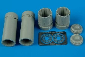 Aires 7215 F/A-18C exhaust nozzles - opened 1/72 ACADEMY