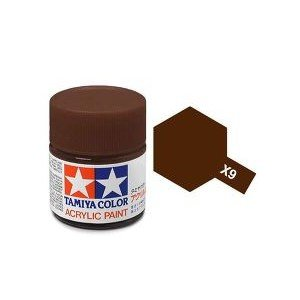 Tamiya 81009 Acryl X-9 Brown 23ml