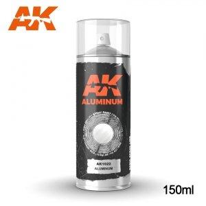 AK Interactive AK 1022 ALUMINIUM SPRAY 150ml