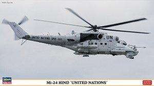 Hasegawa 02192 Mi 24 Hind 'United Nations' 1/72