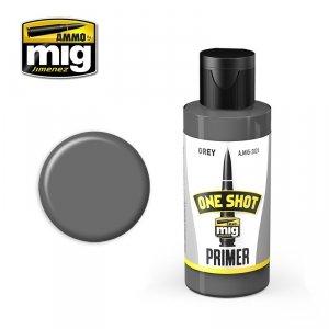 AMMO of Mig Jimenez 2024 ONE SHOT PRIMER - GREY 60ml.