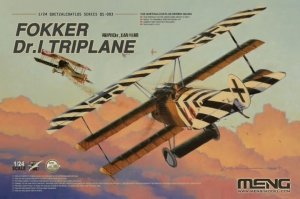 Meng Model QS-003 Fokker Dr.I Triplane 1/24