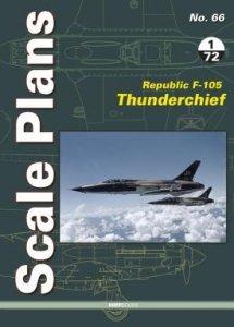 Stratus 49173 Scale Plans No. 66. Republic F-105 Thunderchief 1/72 Scale