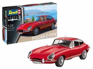 Revell 67668 Jaguar E-Type Coupe - Model Set 1/24