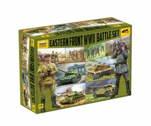 Zvezda 5203 Eastern Front WWII Battle Set 1/72