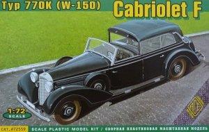 ACE 72559 Cabriolet F Typ 770K(W-150) (1:72)