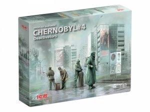 ICM 35904 Chernobyl 4 Deactivators 1/35