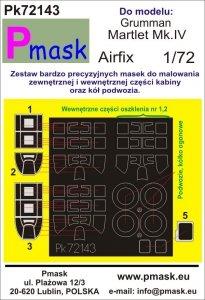 P-Mask PK72143 Martlet Mk.IV (Airfix) 1/72