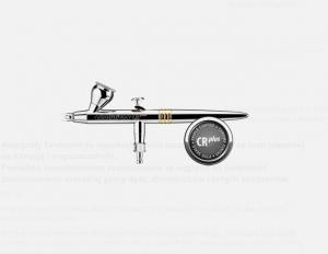 Harder & Steenbeck 126234 Aerograf CR+ 2w1 0,2+ 0,4mm
