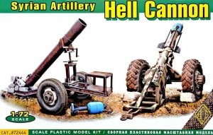 ACE 72444 Hell Cannon Syrian Artillery 1:72