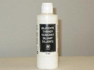 Vallejo 71161 Airbrush Thinner 200ml