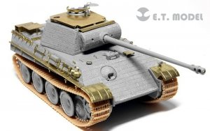 E.T. Model E72-010 WWII German Panther G Anti Aircraft Armour For DRAGON Kit 1/72