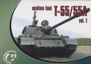Rossagraph Model Detail Photo Monograph No. 09 - T-55 / T-55A Vol.1 PL/EN